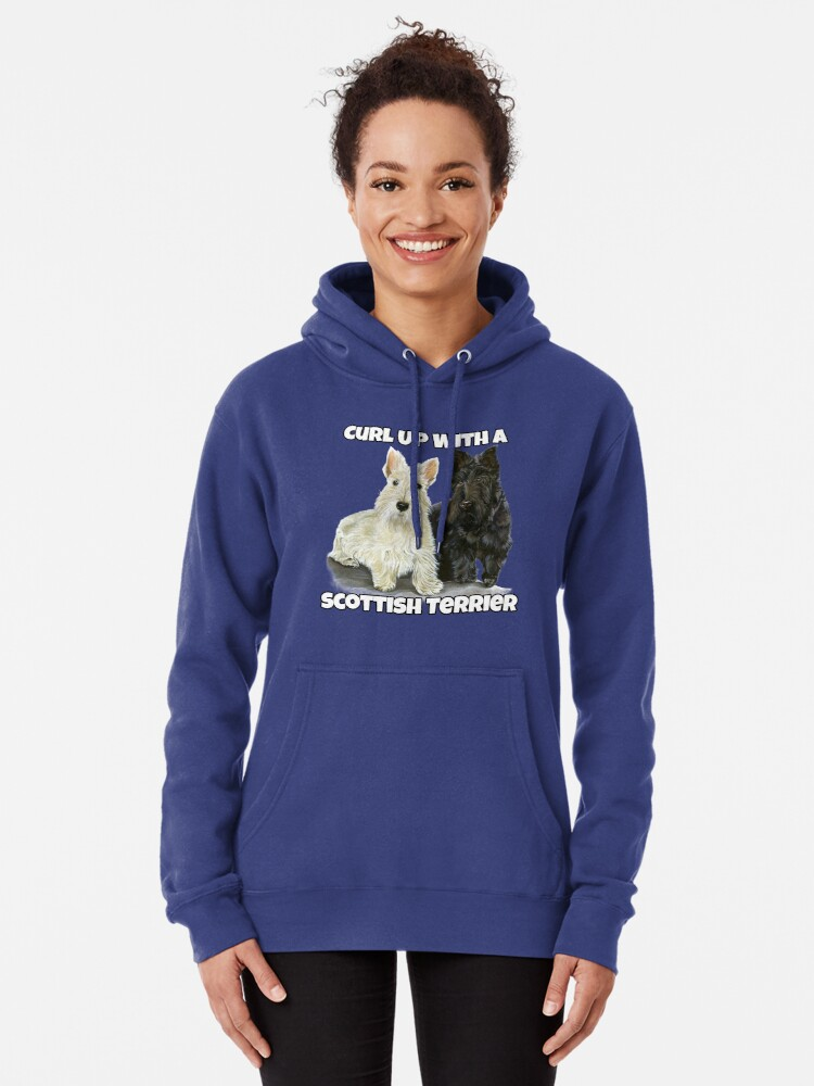 MESS Loved by A Scottish Terrier Dog Lover Hoodie