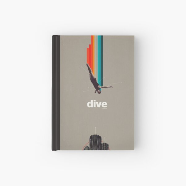 Dive Into My Soul Hardcover Journal