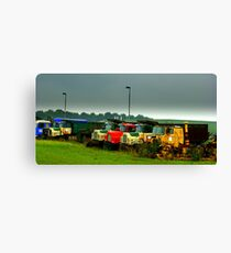 Trucks..... Canvas Print