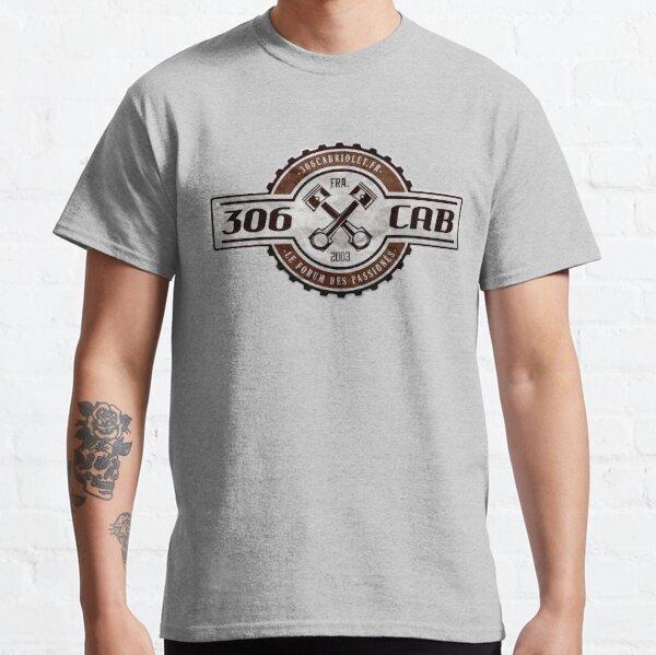 Vintage Garage - 306 Cab (logo Marron) T-shirt classique