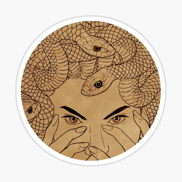Medusa  Sticker