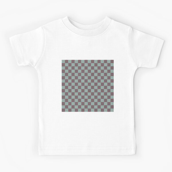 #Scrapbook, #design, #pattern, #repetition, abstract, illustration, square, color image, geometric shape, retro style Kids T-Shirt