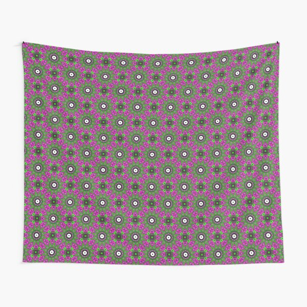 #Scrapbook, #design, #pattern, #repetition, abstract, illustration, square, color image, geometric shape, retro style Tapestry
