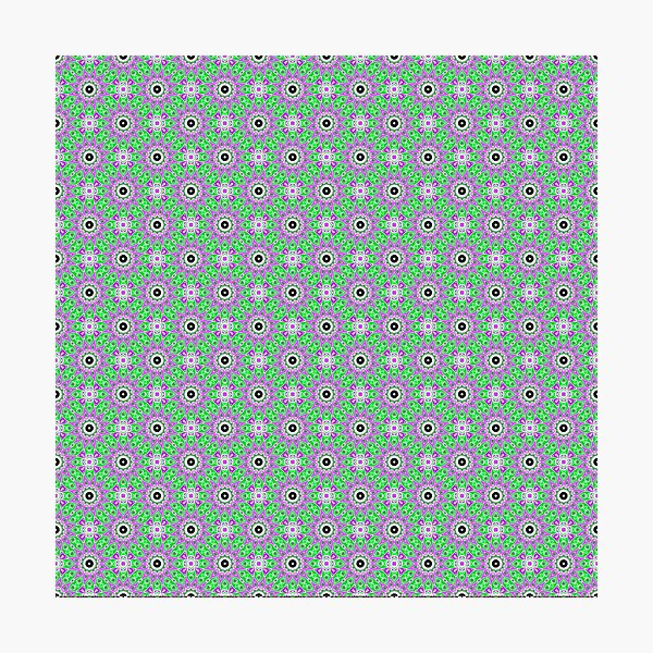 #Scrapbook, #design, #pattern, #repetition, abstract, illustration, square, color image, geometric shape, retro style Photographic Print