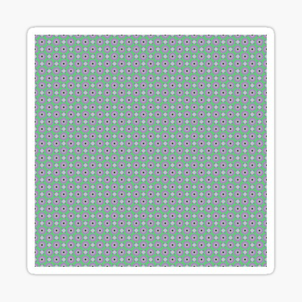 Op art - art movement, short for optical art, is a style of visual art that uses optical illusions Sticker