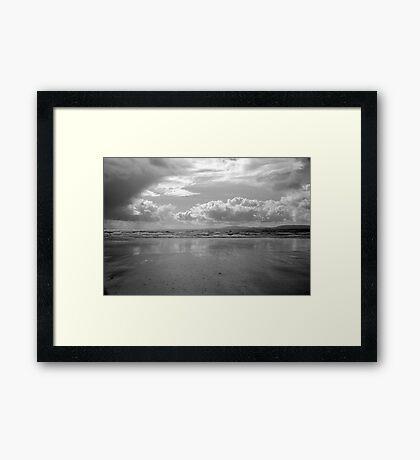 Storm in Dingle Bay, Kerry, Ireland, 2 Framed Print