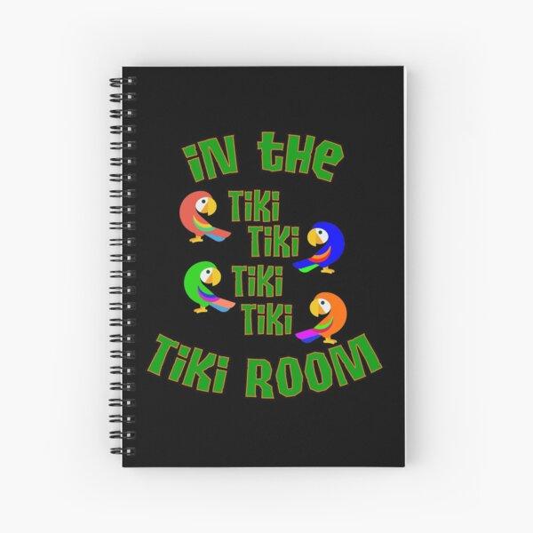 Enchanted Tiki Room Spiral Notebook