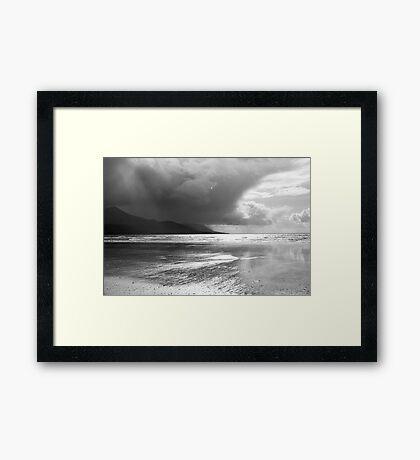 Storm in Dingle Bay, Kerry, Ireland, 3 Framed Print