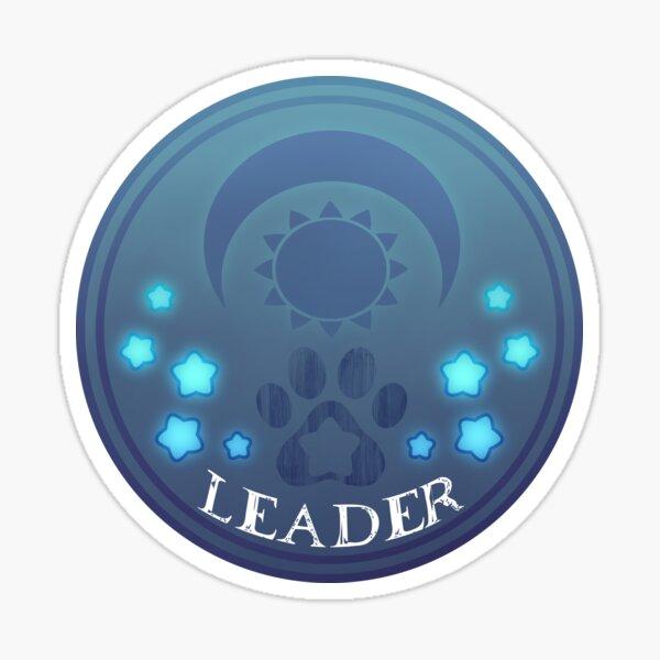 Official Leader Sticker