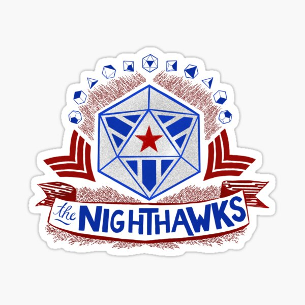 Commissioned Piece - Nighthawk Campaign Sticker