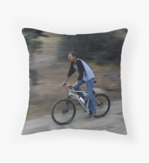 My Husband, Portrait 1 Throw Pillow
