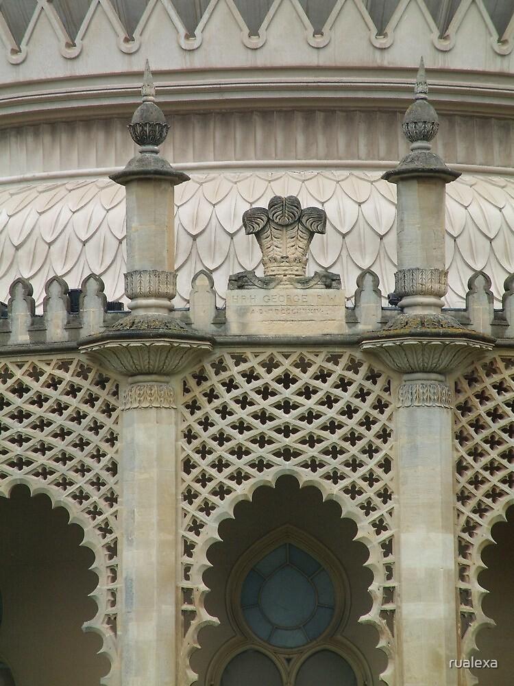 Brighton Pavillion Tracery by rualexa