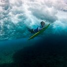 Flying under the waves by Carlos Villoch