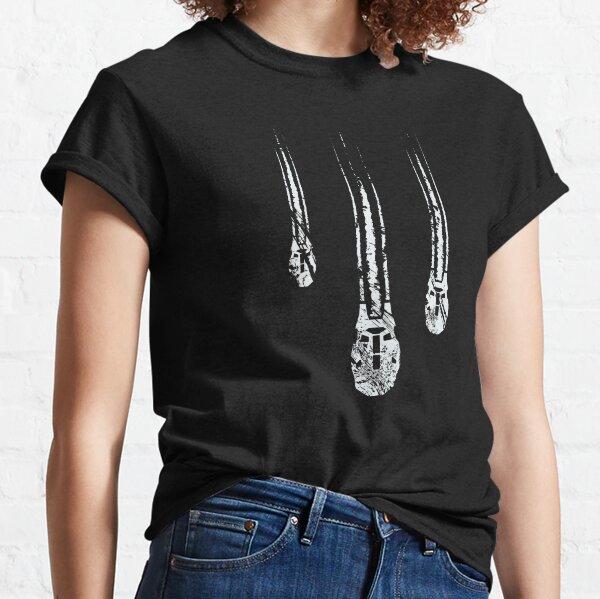 Füße zuerst in die Hölle (Grunge - Licht) Classic T-Shirt