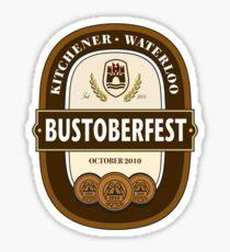 Bustoberfest 2010 Sticker
