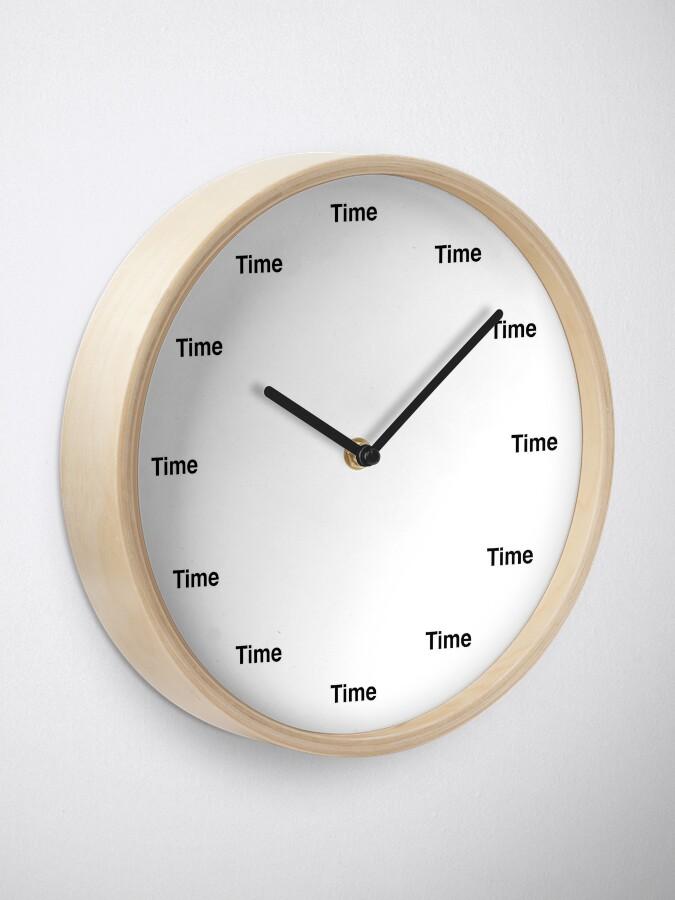 Alternate view of Time 'O Clock Clock