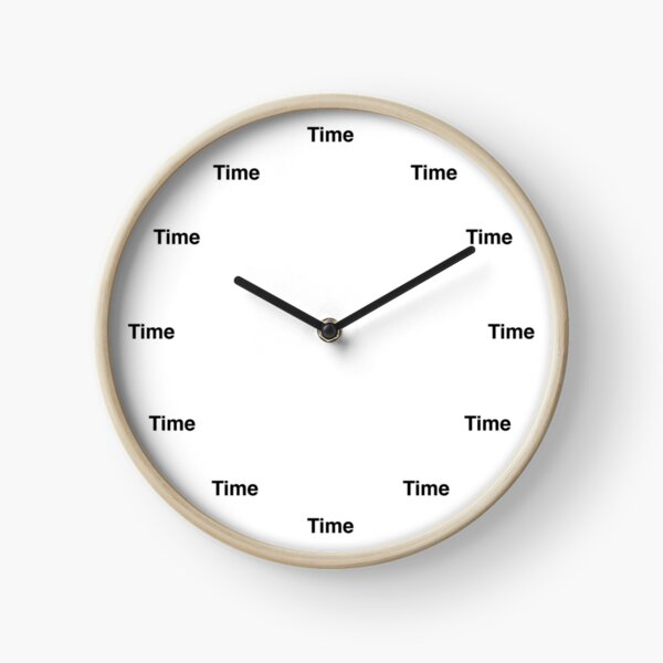 Time 'O Clock Clock