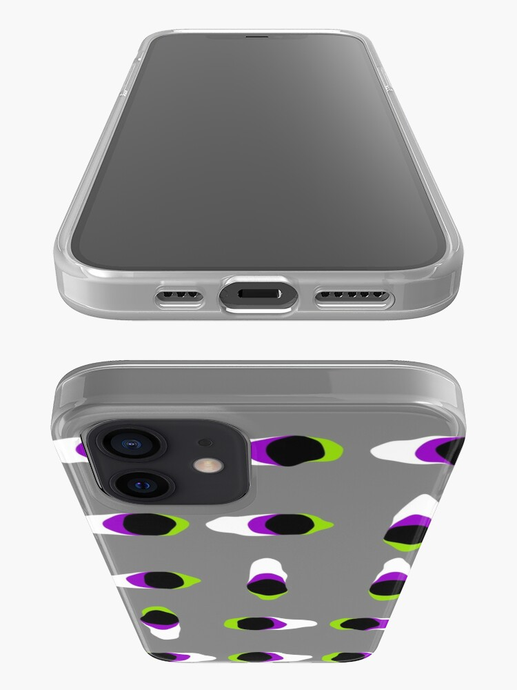 Alternate view of Op art - art movement, short for optical art, is a style of visual art that uses optical illusions iPhone Case
