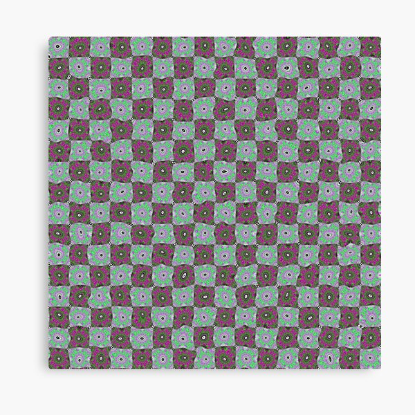 Op art - art movement, short for optical art, is a style of visual art that uses optical illusions Canvas Print