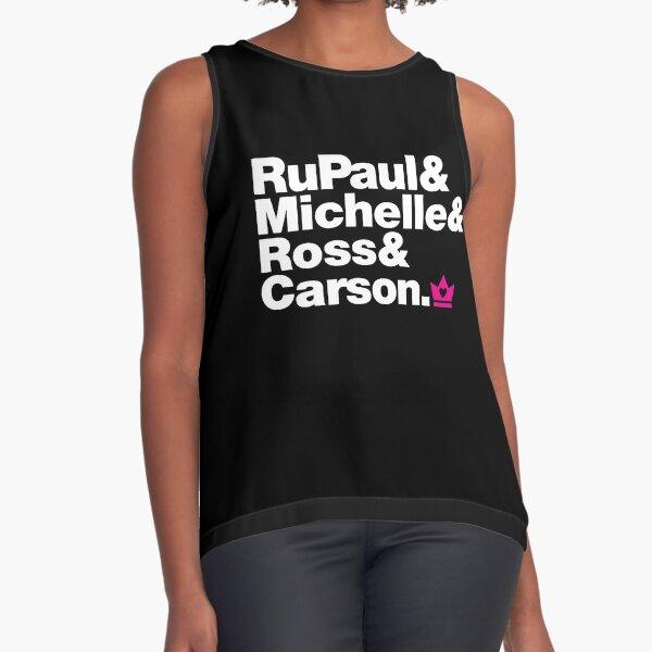 RuPaul & Michelle & Ross & Carson Sleeveless Top