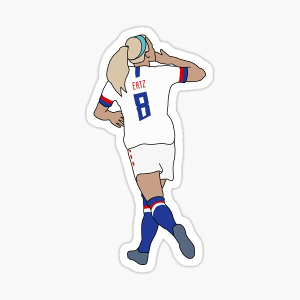 Julie Ertz 8 USWNT Sticker