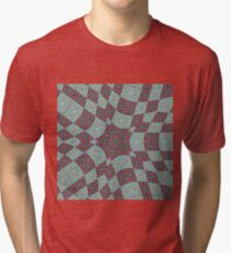 Op art - art movement, short for optical art, is a style of visual art that uses optical illusions Tri-blend T-Shirt
