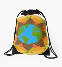 Seed The World Drawstring Bag