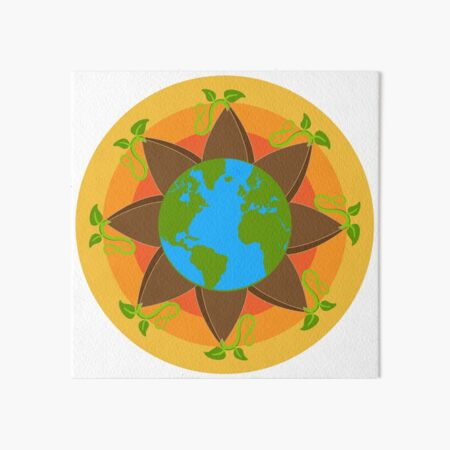 Seed The World Art Board Print