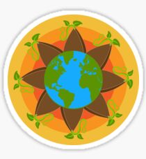 Seed The World Glossy Sticker