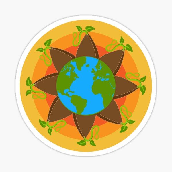 Seed The World Sticker