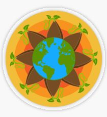 Seed The World Transparent Sticker