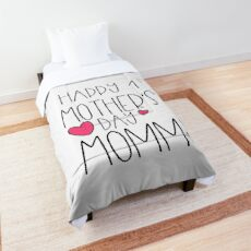 Happy 1st Mother's Day New Mommy First Newborn Comforter