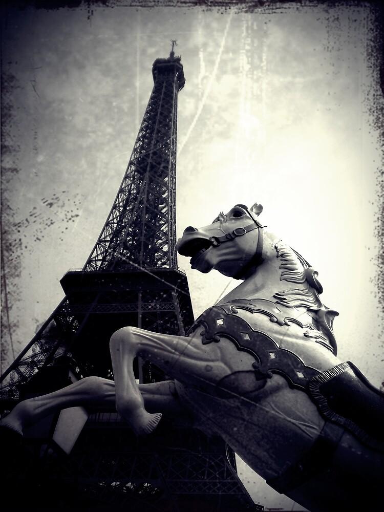 The Parisienne Eiffel Tower by Josephine Pugh
