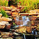 Colorful Waterfalls by kentuckyblueman