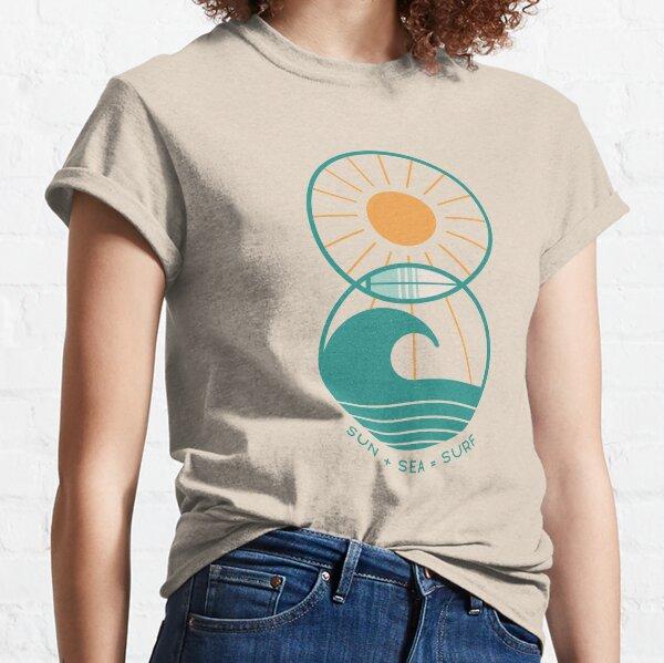 Sun Sea and Surf Classic T-Shirt
