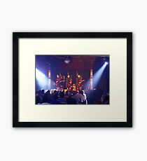 Red Hot Chilli Pipers Framed Print