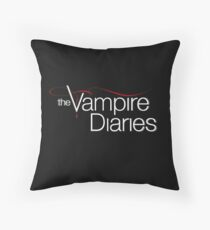 The Vampire Diaries - Logo Throw Pillow