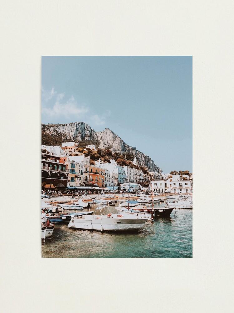 Alternate view of Banchinella Porto, Italy Photographic Print