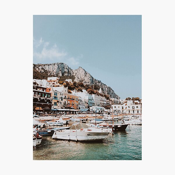 Banchinella Porto, Italy Photographic Print