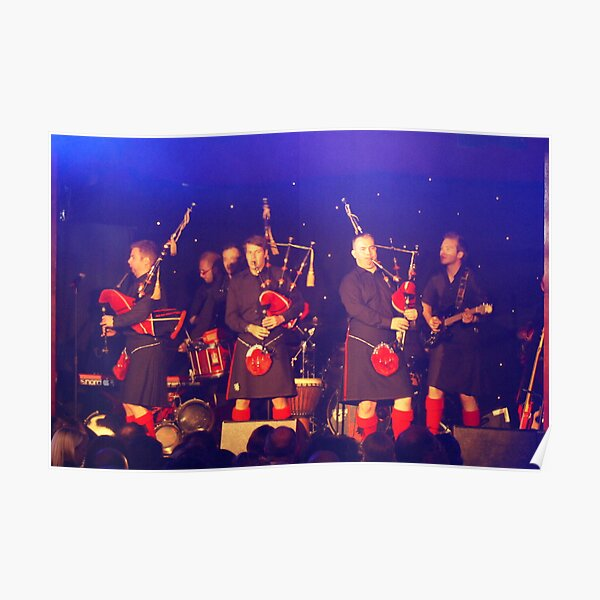 Red Hot Chilli Pipers Poster