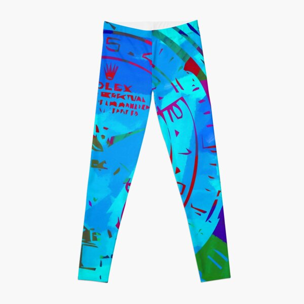 Rolex Abstract Paint 11 Leggings