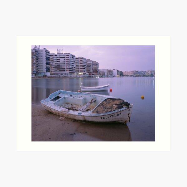 shipwreck beach Art Print
