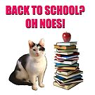 Back to school cat by bmgdesigns