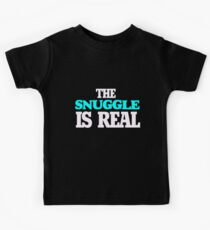 The snuggle is real Kids Tee