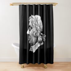 Lord Protector - Oliver Cromwell Shower Curtain