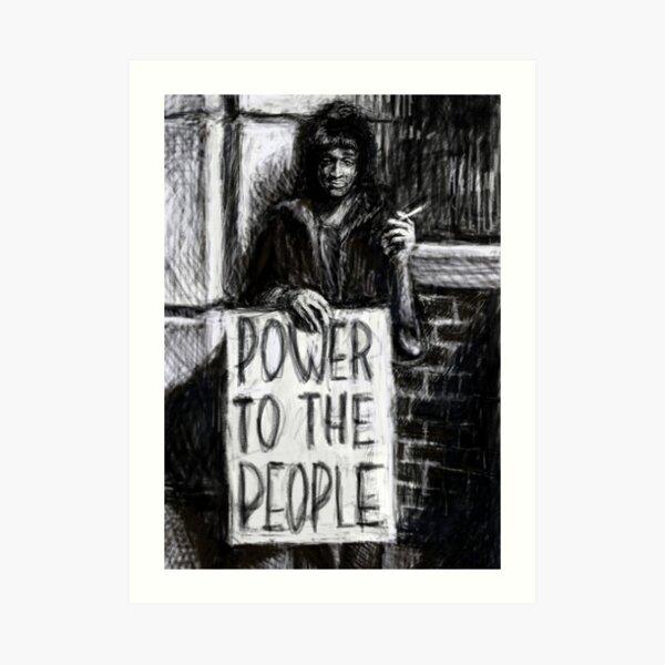 Marsha P. Johnson -- Power To The People Art Print