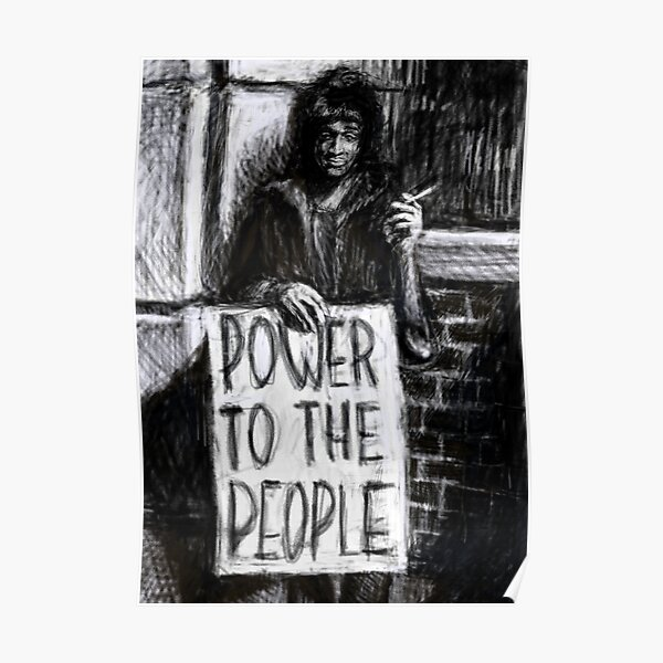 Marsha P. Johnson -- Power To The People Poster