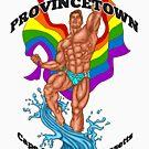 Provincetown Hunk Brown Haare von AbbottDesigns