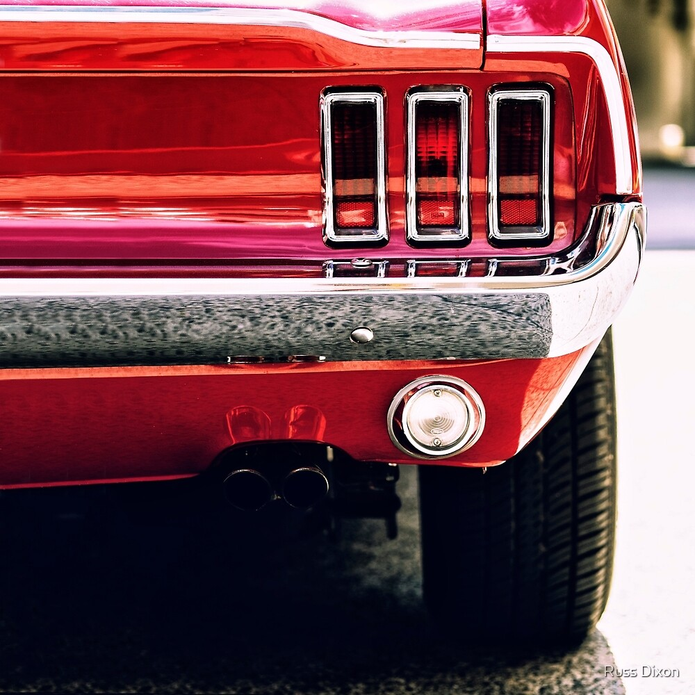 Classic Ford Mustang  by Russ Dixon