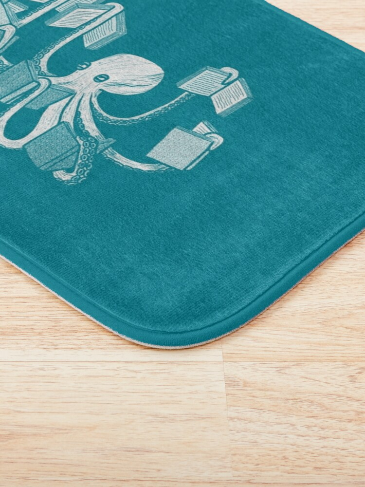 Alternate view of Armed With Knowledge Bath Mat